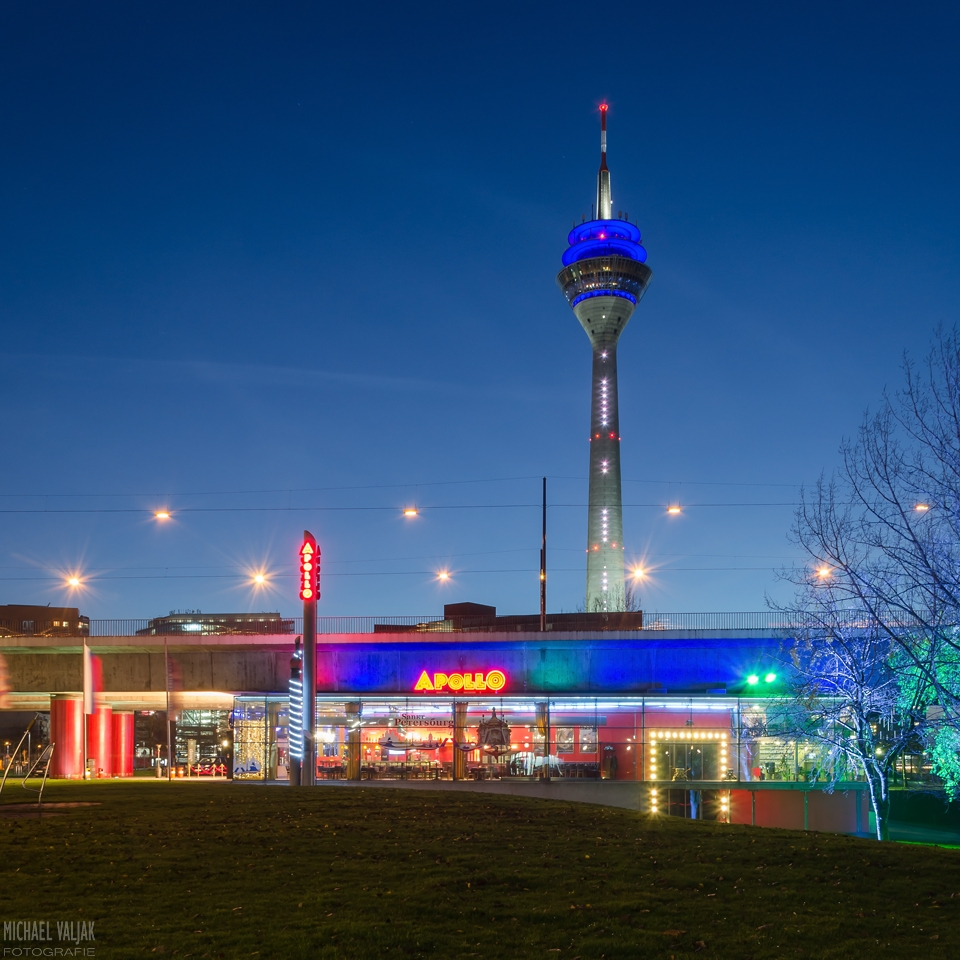 Apollo Varieté und Rheinturm Düsseldorf