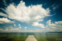 Wolken am Chiemsee