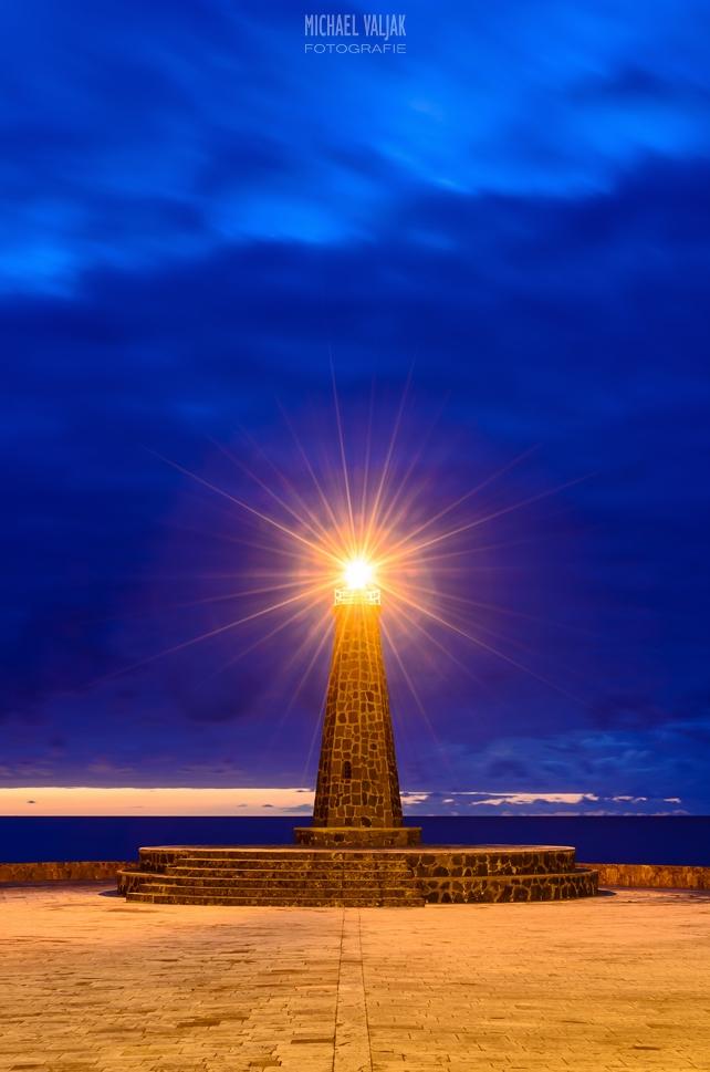 Leuchtturm Bajamar / Teneriffa