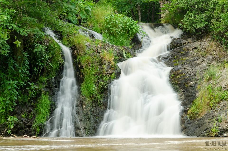 Elzbachwasserfall in der Eifel