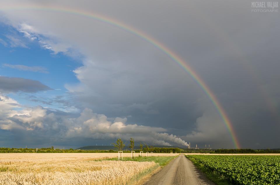 Regenbogen bei Grevenbroich
