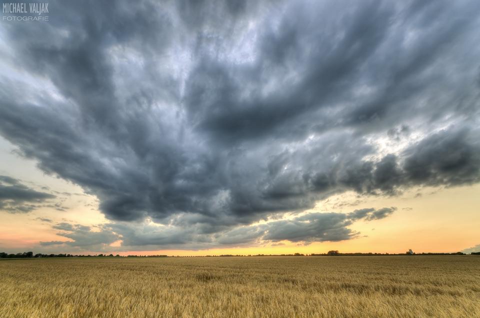 Wolken bei Liedberg