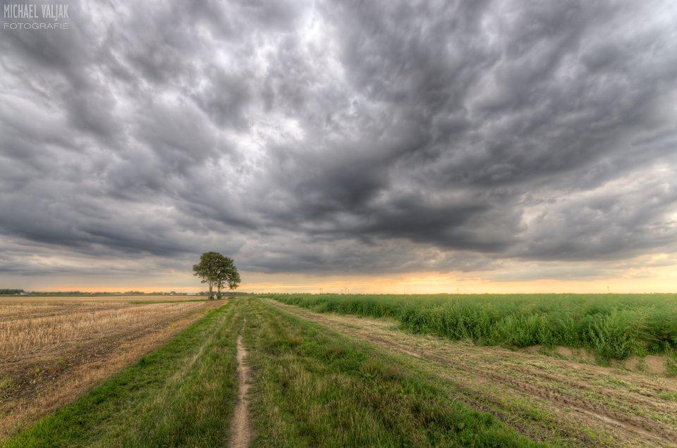 Gewitterstimmung Neuss Bauerbahn