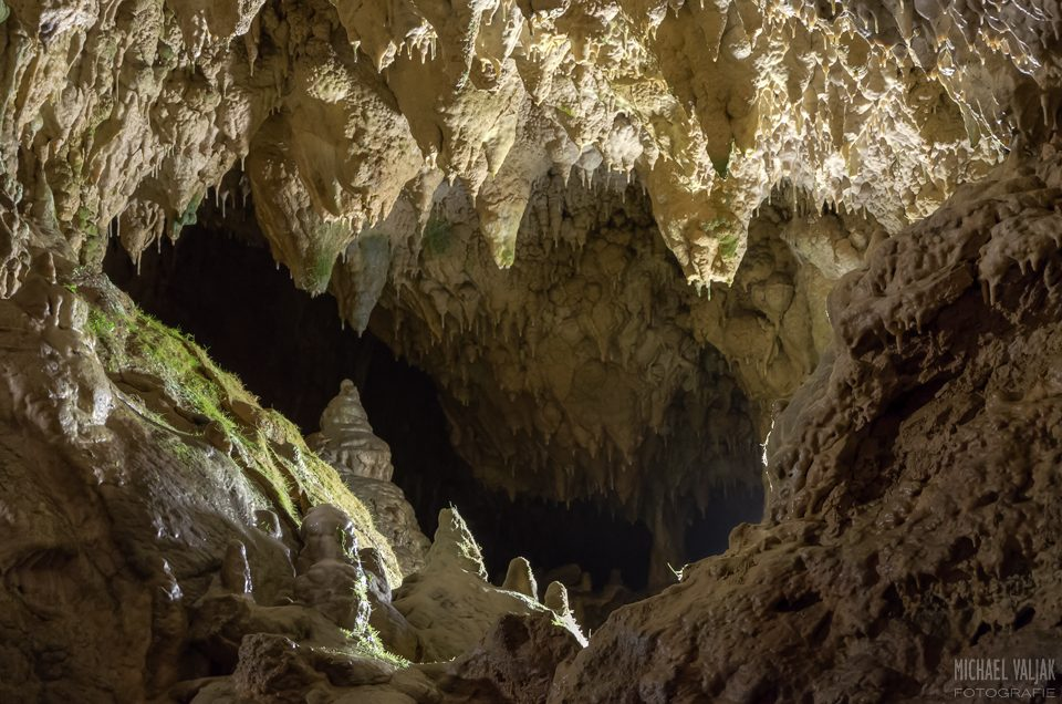 In der Bärenhöhle auf der Schwäbischen Alb