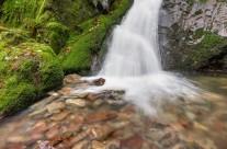 Edelfrauengrab-Wasserfall im Schwarzwald