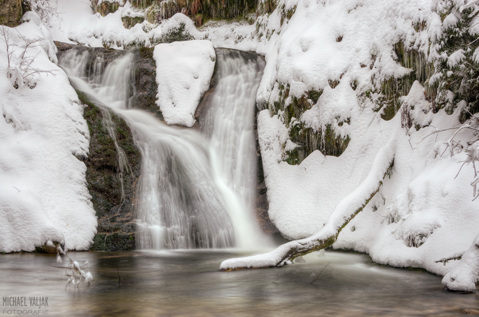 Allerheiligen-Wasserfall im Winter