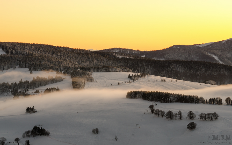 Winterlandschaft auf dem Schauinsland