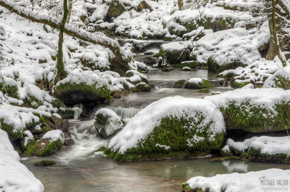 Monbachtal im Winter