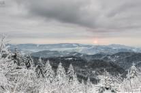 Schwarzwaldblick im Winter