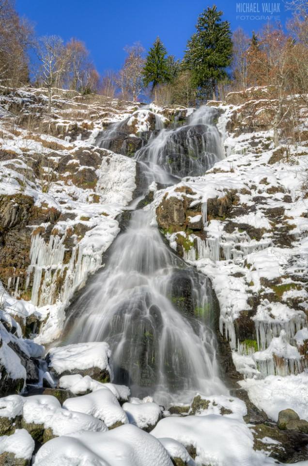 Todtnauer Wasserfall im Winter
