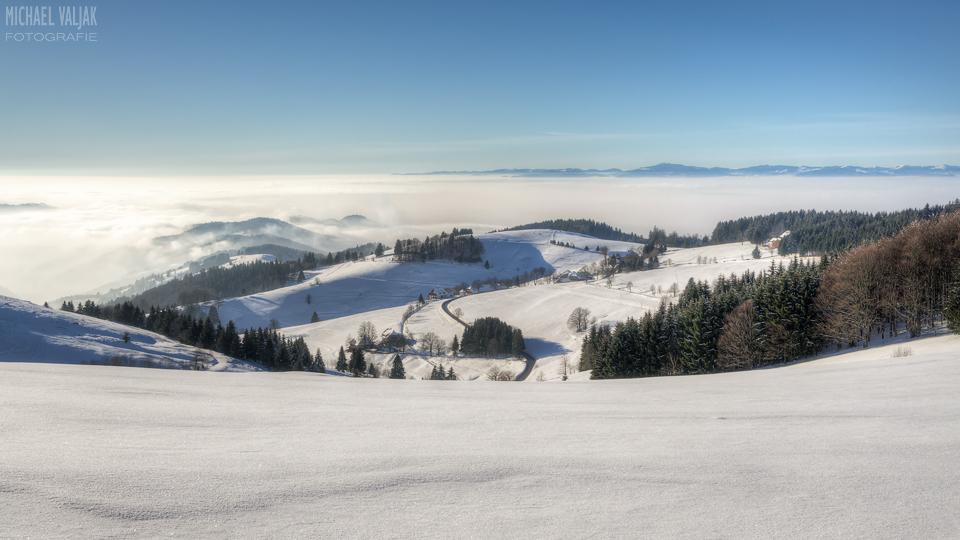 Winterlandschaft bei Schauinsland im Schwarzwald
