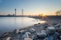 Düsseldorf Oberkasseler Rheinwiesen