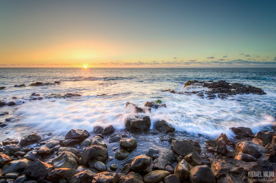 Sonnenuntergang in Bajamar