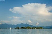 Fraueninsel Chiemsee im Sommer
