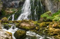 Gollinger Wasserfall in Österreich