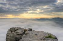 Nebelmeer vom Lilienstein