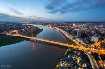 Aussicht auf Düsseldorf