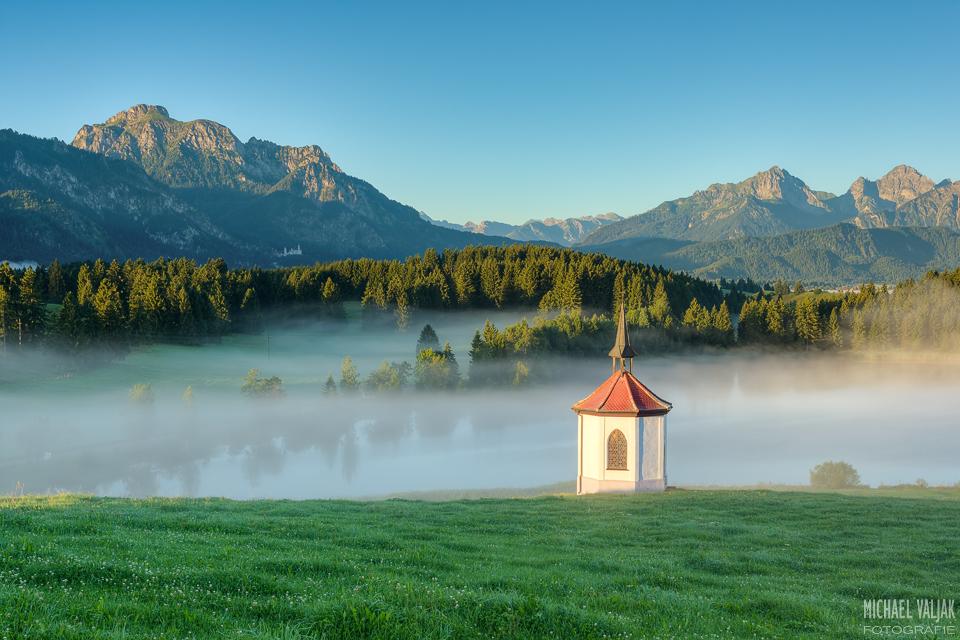 Ein Sommermorgen im Allgäu