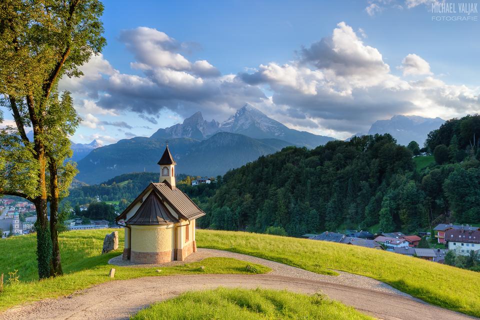 Berchtesgaden Kapelle am Lockstein