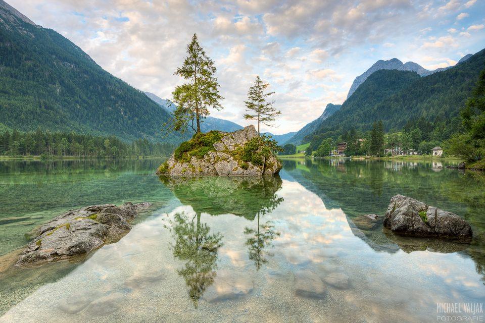 Der Hintersee in Bayern