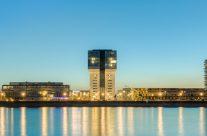 Köln Kranhäuser Panorama