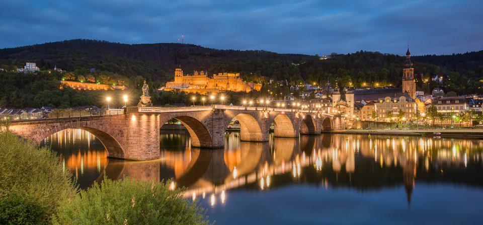 Heidelberg am Abend