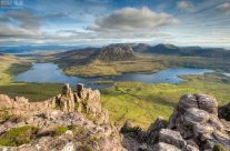 Stac Pollaidh in Schottland