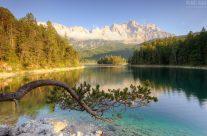 Am Eibsee in Bayern
