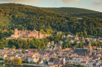 Heidelberg in der Abendsonne