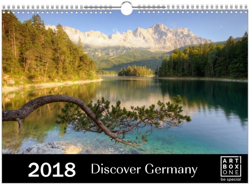 Kalender Discover Germany 2018