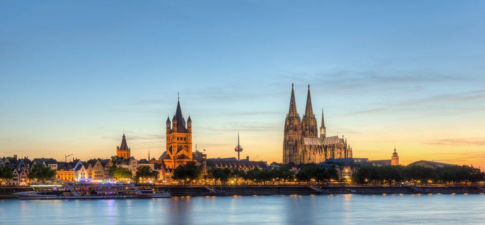 Abends in Köln