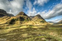 Glen Coe in den Highlands