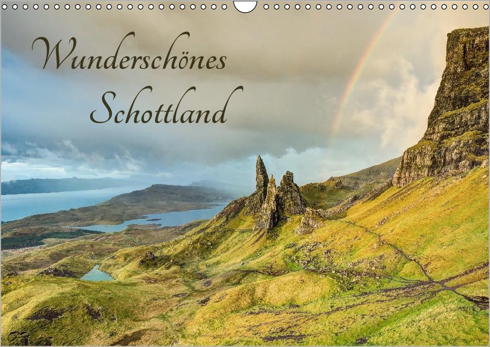 Kalender Wunderschönes Schottland 2018