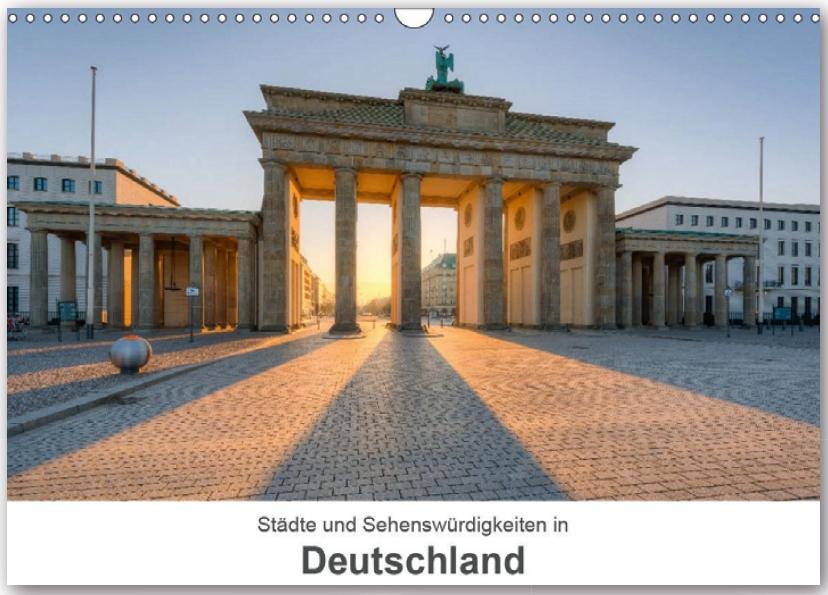 Kalender Städte und Sehenswürdigkeiten in Deutschland 2020