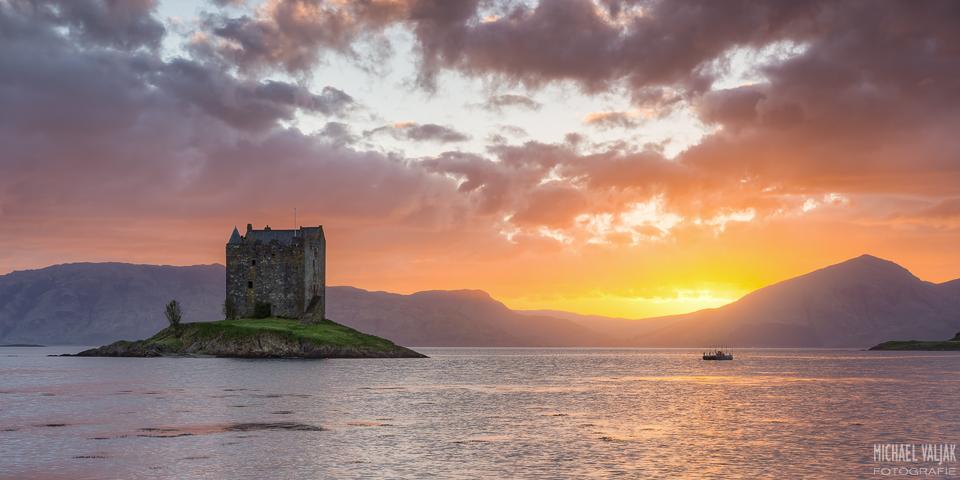 Castle Stalker Schottland