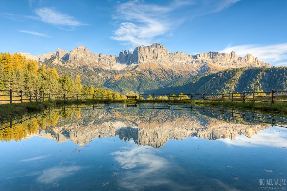 Rosengarten in Südtirol