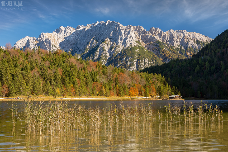Am Ferchensee bei Mittenwald