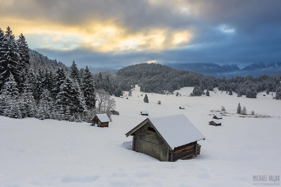Wintermorgen am Geroldsee