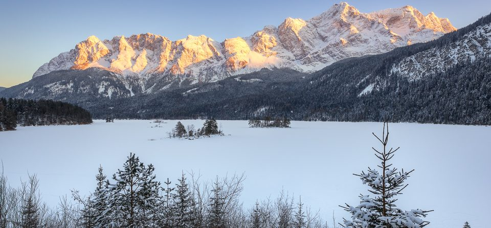 Winter am Eibsee