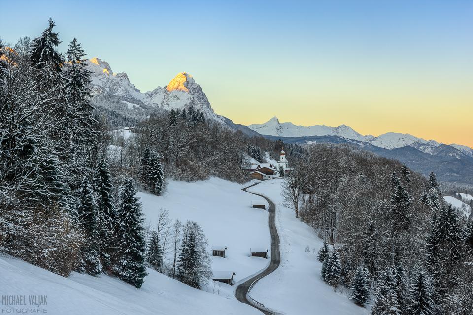 Wamberg im Winter