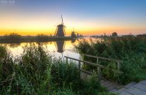 Morgenstimmung in Kinderdijk