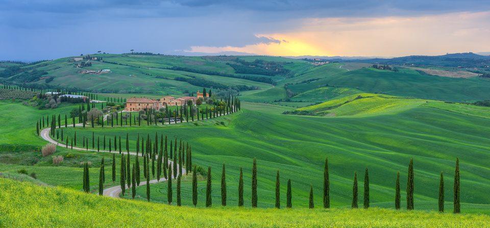 Landgut Baccoleno in der Toskana