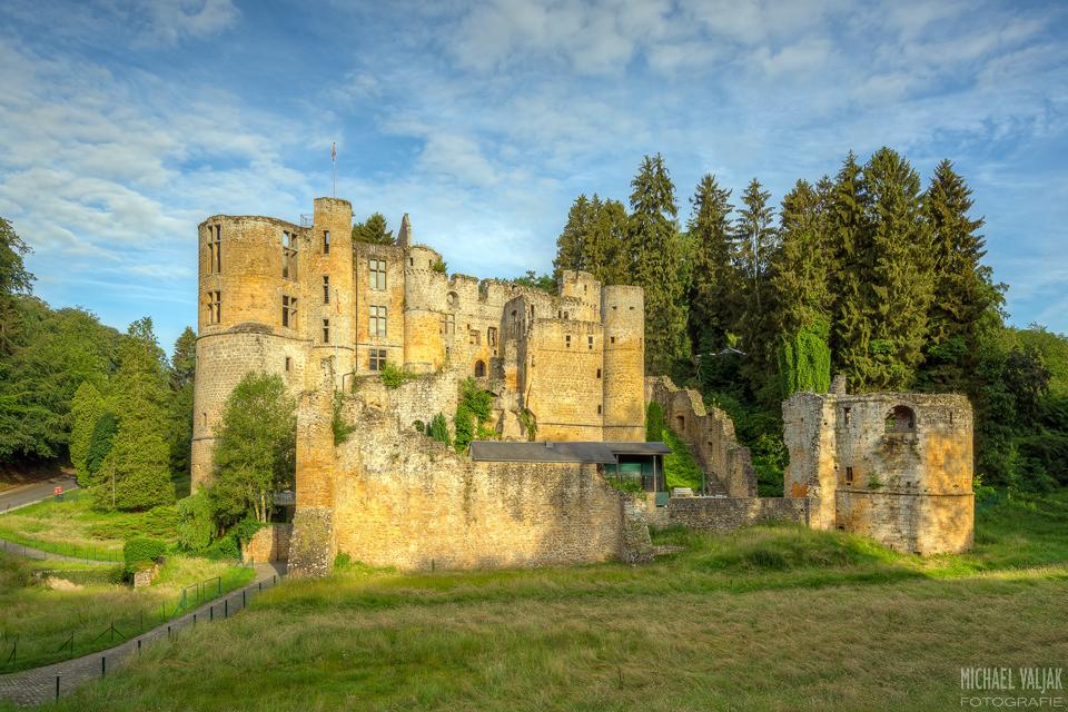 Burg Beaufort in Luxemburg