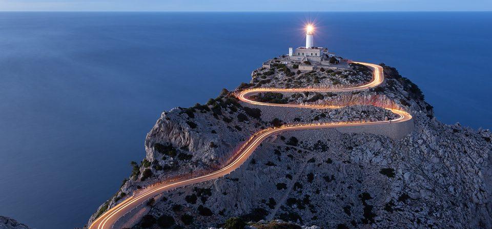 Leuchtturm am Cap de Formentor, Mallorca