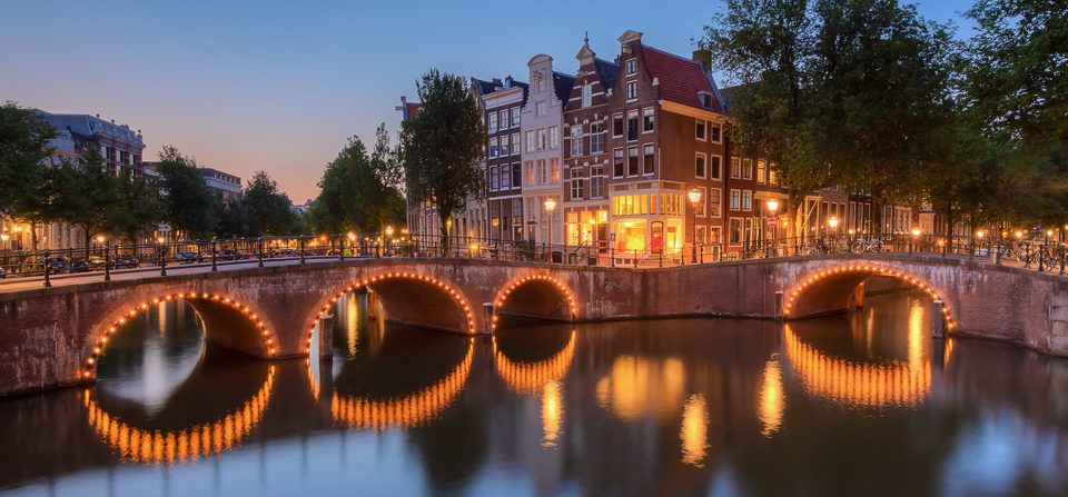 Abends in Amsterdam