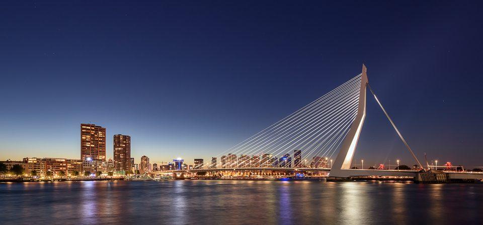 Rotterdam Skyline Panorama