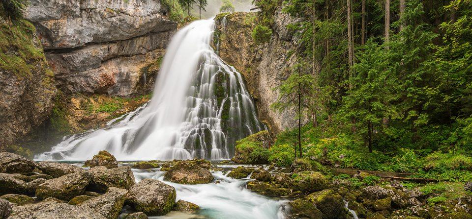 Gollinger Wasserfall Österreich