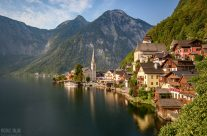 Morgensonne in Hallstatt