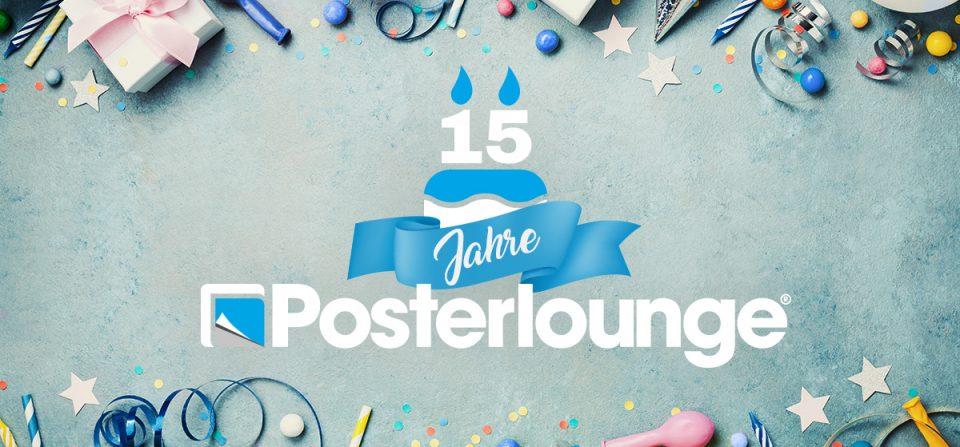 15 Jahre Posterlounge