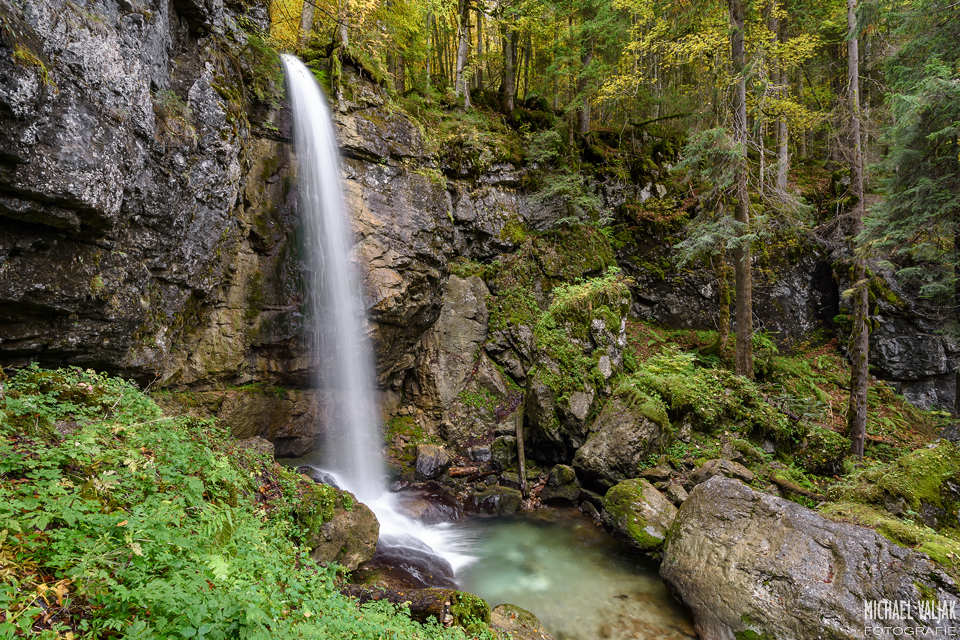 Sibli-Wasserfall in Bayern